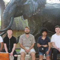 Visiting the Elephant Museum